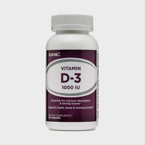 GNC Vitamin D-3 1000 IU Tab 1x180