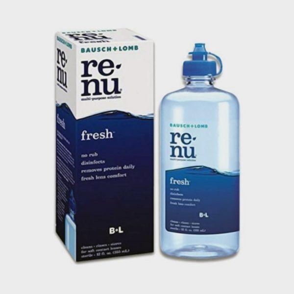 Bausch & Lomb Renu Fresh Multi Purpose Lens Solution (355 ml)
