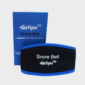 AlexVyan Special Premium Green or Blue Anti Snore Chin Strap