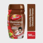 Dabur Chyawanprash Chocolate (Free Air Tight Container)-450g