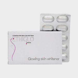 Ethiglo Tablet - Glowing Skin Whitener - 10 Tablets
