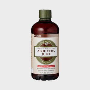 GNC Aloe Vera Juice Unflavoured Liquid 32 Oz