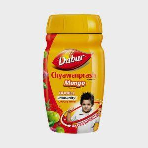 Dabur Chyawanprash Mango Flavour (Free Air Tight Container)-500g