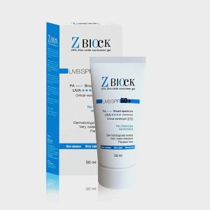Ethicare Z-Block 25% Zinc Oxide Sunscreen Gel SPF 50
