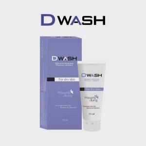 Ethicare Dwash Moisturizing Facial Rich Creamy Wash-Dry Sensitive Skin