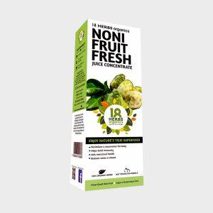 18 Herbs Organics Noni Fruit Fresh Juice