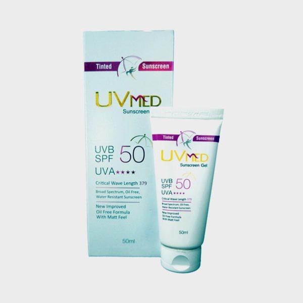 Ethicare UVMed Tinted Sunscreen Gel SPF 50