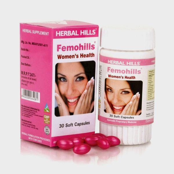 Herbal Hills Femo Hills Kit Menstrual Problems
