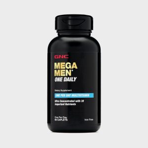 GNC Mega Men One Daily Multivitamin (60 Caplets)
