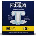 Friends Overnight Adult Diaper Medium