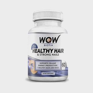 Wow Biotin Healthy Hair And Strong Nails 60 Caps