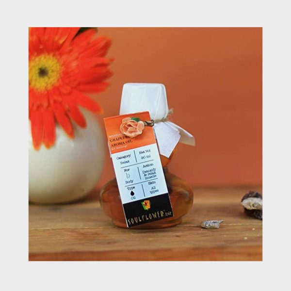 Soulflower Grapefruit Anti Cellulite Aroma Massage Oil