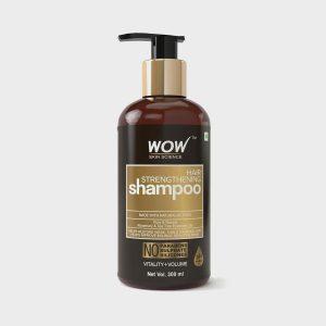 Wow Organic Hair Strengthening Shampoo 300ml