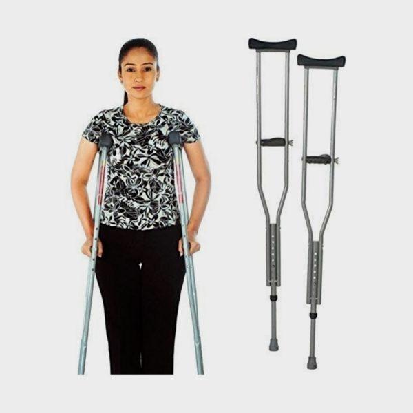 Vissco Invalid Under Arm Auxilliary Crutches