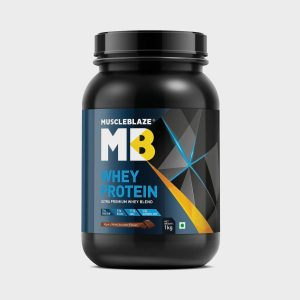 Muscle Blaze Whey Protein 1 KG