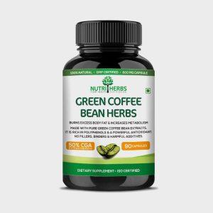 Nutriherbs Green Coffee Bean Herbs 90 Capsules