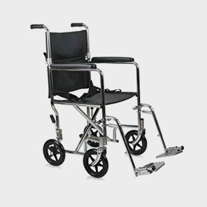 Ishnee Lightweight travelling Wheelchair with breaking system and locking