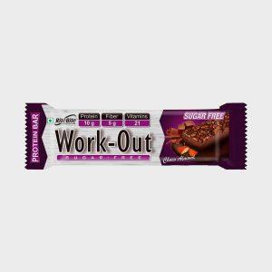 Ritebite Work Out Bar Protein Bars (50 g, Choco ALmond)