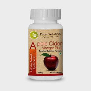 Pure Nutrition Apple Cider Vinegar Plus (Includes Prebiotic Apple Pectin)
