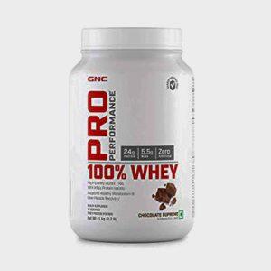 GNC Pro Performance 100% Whey Protein Powder 2kg