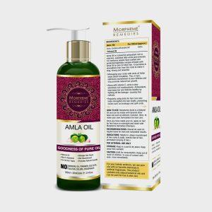 Morpheme Remedies Pure Amla Oil (No Mineral Oil, Paraben) 120 ml