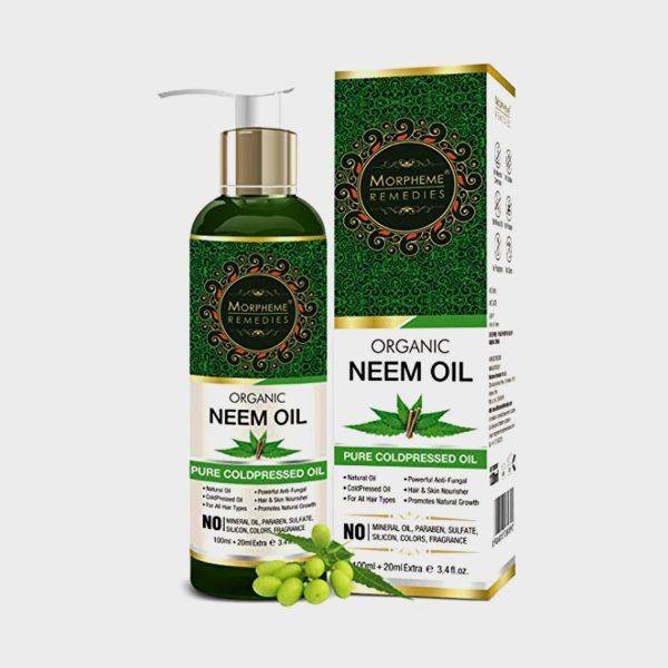 Morpheme Remedies Pure Coldpressed Organic Neem Oil