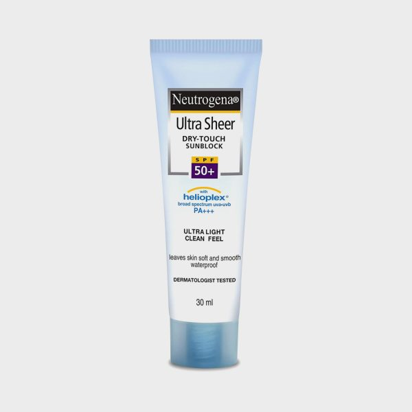 Neutrogena Ultra Sheer Dry-Touch SPF 50+ Sunblock, 30ml