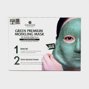 Shangpree Green Premium Modeling Mask – 5 Pack