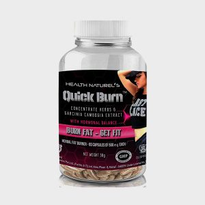Health Naturels Quick Burn For Her 500mg 60 Capsules