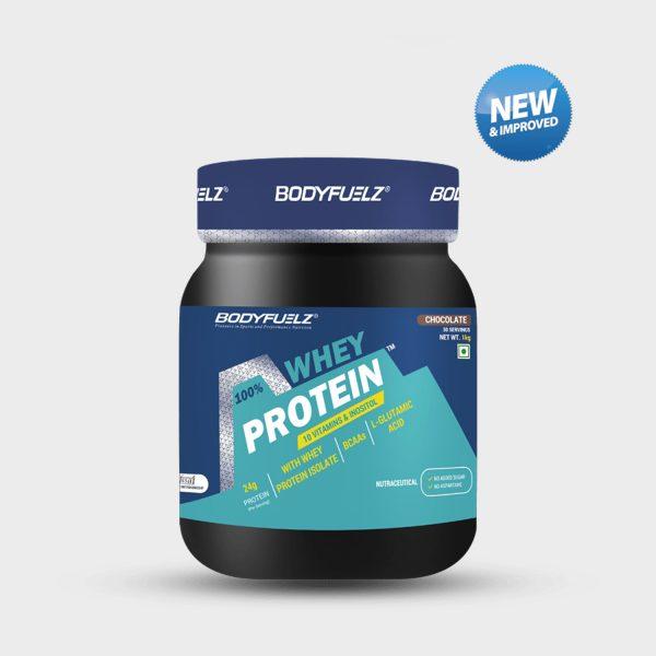 bodyfuelz whey protein 1kg chocolate
