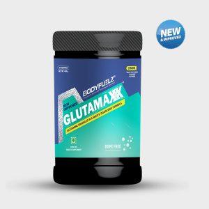 Bodyfuelz Glutamaxxx Jar of 400g- Lemon