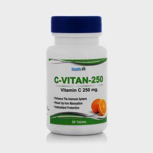 Healthvit C-Vitan-250 Vitamin C 250MG