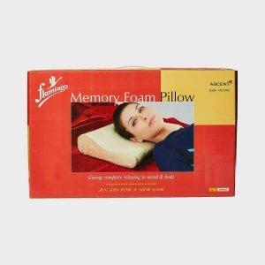 Flamingo Memory Foam Pillow