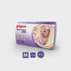 Pigeon Baby Diaper M Size 40 Pcs