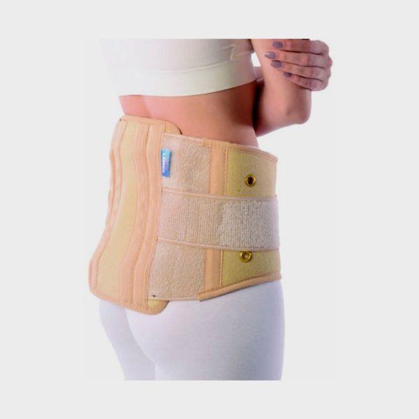 Vissco Contoured Sacro Lumbar Belt with Side Straps