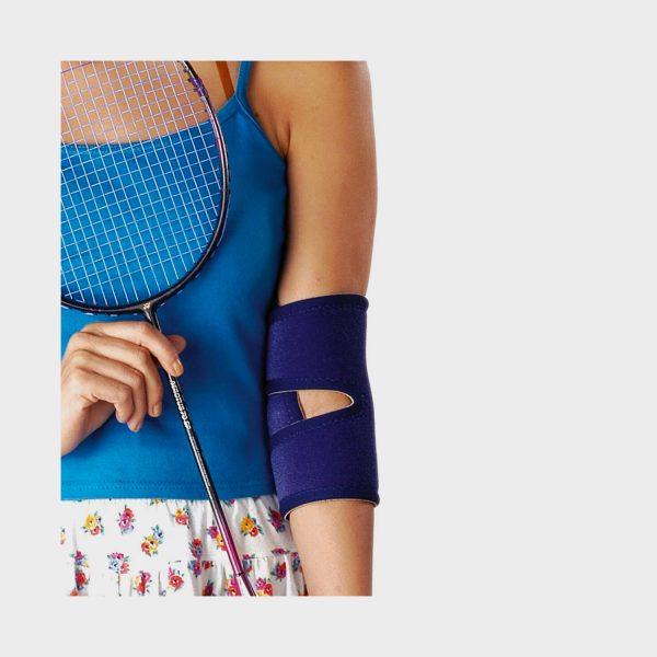 Vissco Neoprene Elbow Support with Velcro Strap
