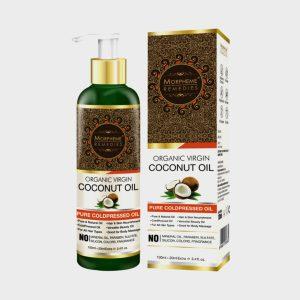 Morpheme Remedies Pure Coldpressed Organic Virgin Coconut Oil 120 Ml