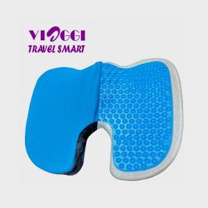 Viaggi Coccyx Orthopedic Memory Foam Seat Cushion With Cool Gel