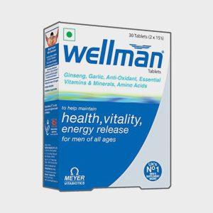 Wellman Tablets – 30 Tablets