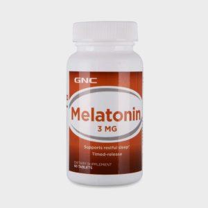GNC Melatonin 3 mg (60 Tablets)