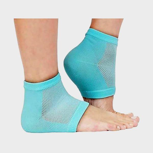 WDS Heel Pain Relief Silicon Gel Heel Socks Pad