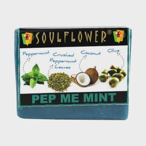 Soulflower Pep Me Mint Soap