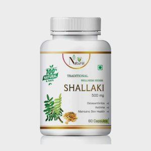 NATURAL Shallaki For Skin Health & Asthma (60 Tablets)