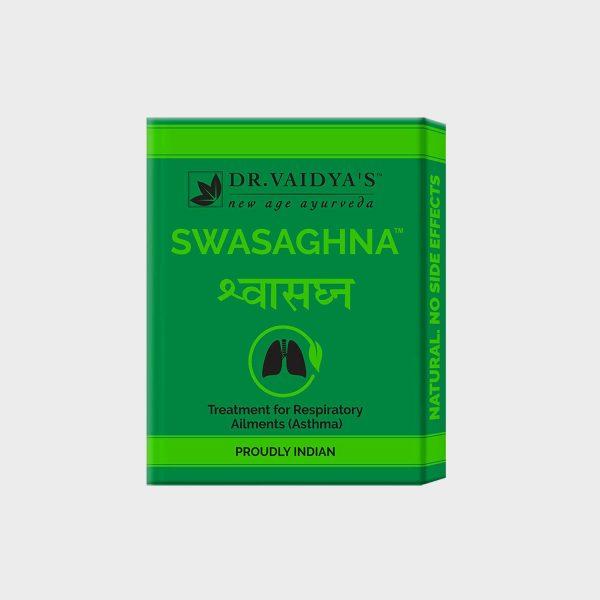 Dr. Vaidya's Swasaghna Ayurvedic Pills For Bronchial Asthma