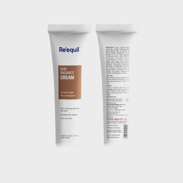 Re'equil Skin Radiance Cream for dark spots, Hyper pigmentation - 30g