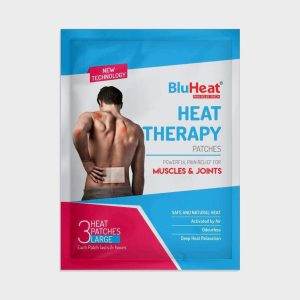 BluHeat Back & Hip Pain Relief Patch 12 Patches