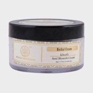 Khadi Naturals Herbal Anti Blemish Cream – 50g