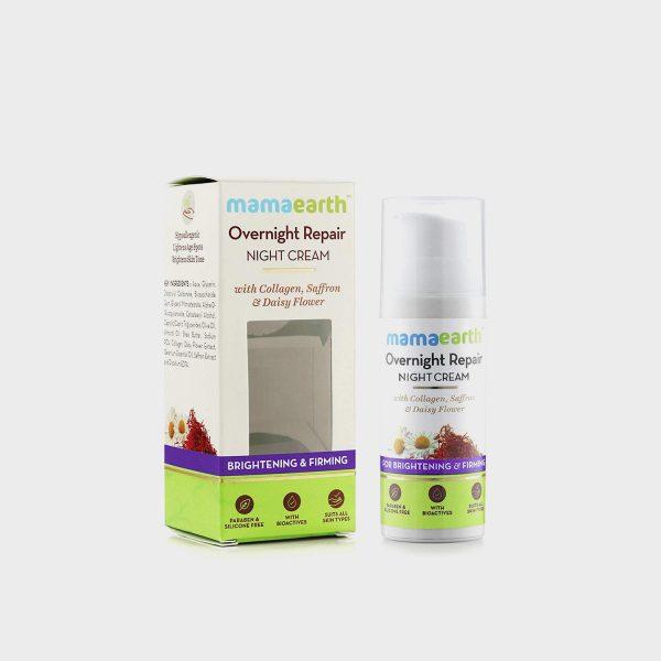 Mama earth Overnight Repair Face Cream