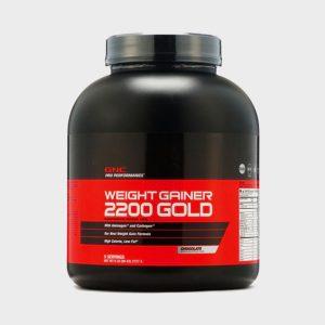 GNC Weight Gainer 2200 Powder Chocolate 6Lb