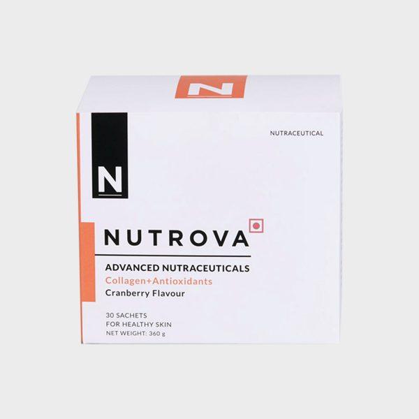 Nutrova Collagen+Antioxidants Supplements - 30 sachets